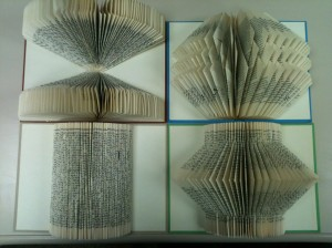 Book Folding; Four Easy Techniques